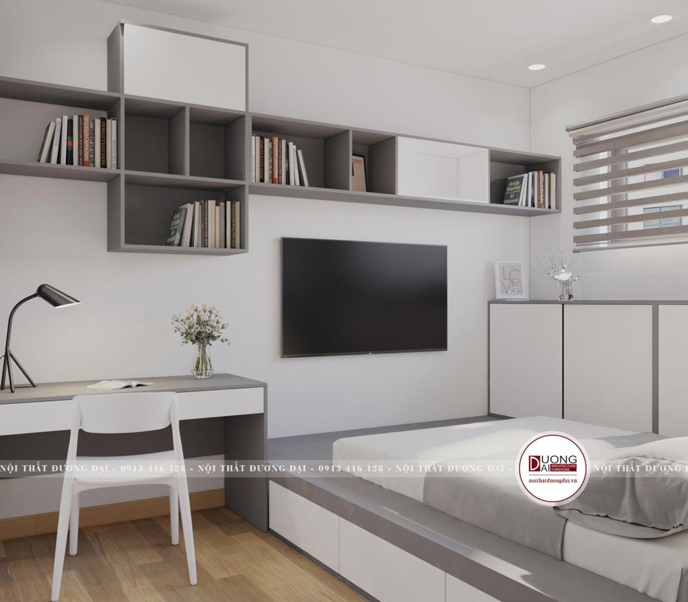 Thiết kế nội thất chung cư Booyoung Vina |CĐT: Chị Bình 95m2