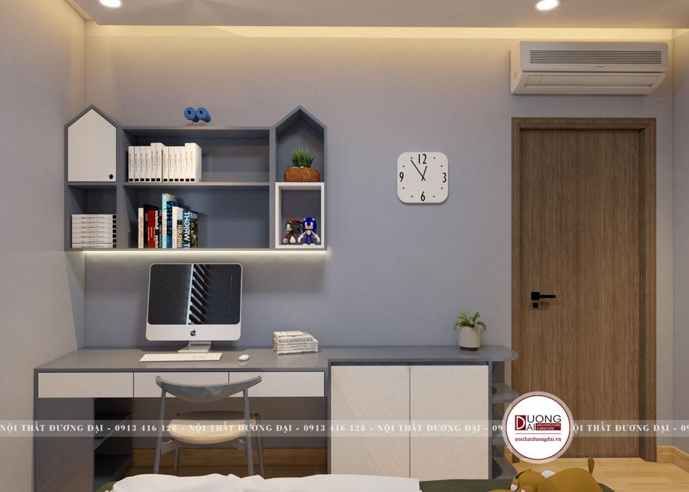 Thiết kế nội thất nhà ống tại Sơn La với 3 tầng 110m2/sàn