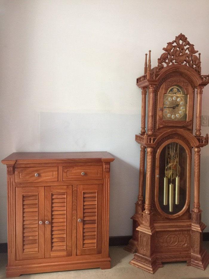 Mẫu tủ mang phong cách tân cổ điển đầy sang trọng