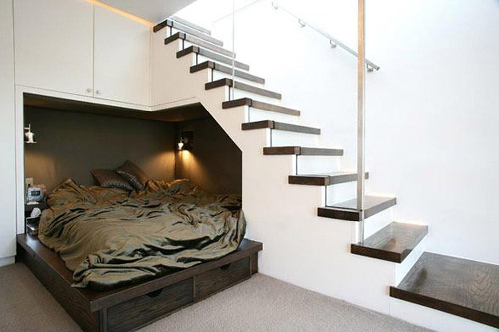 Thiết kế phòng ngủ dưới gầm sẽ không tốt cho sức khỏe