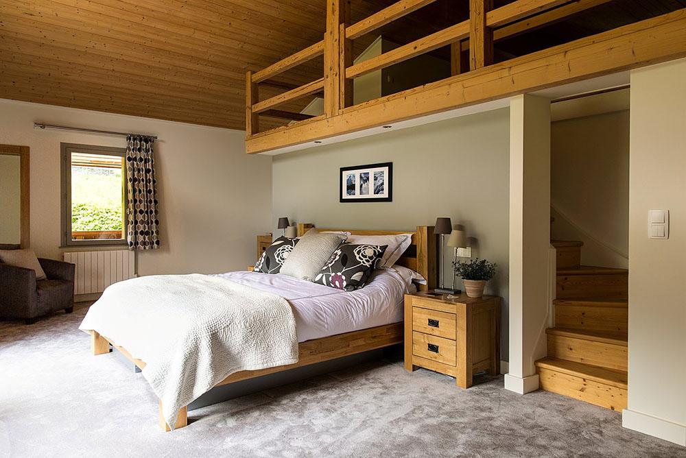Giường ngủ nên bố trí ở nơi thông thoáng