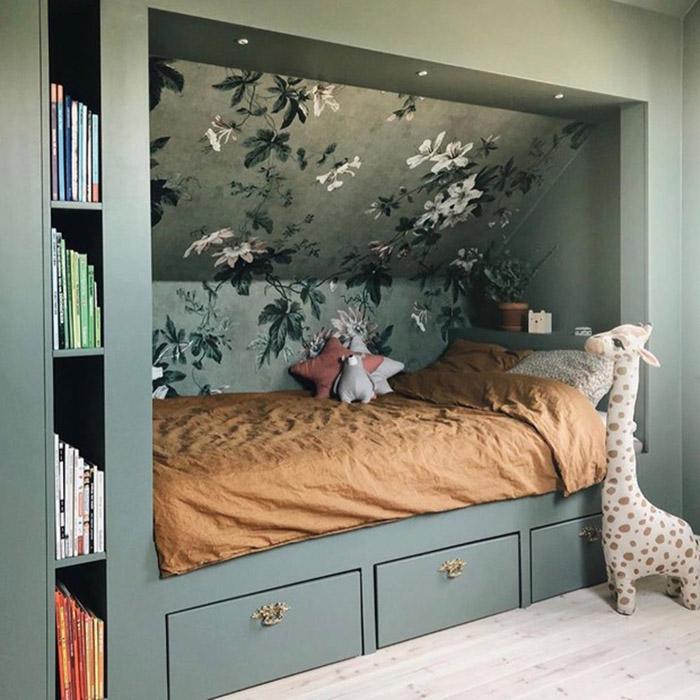 Thiết kế giường ngủ cho bé đầy cá tính và trẻ trung