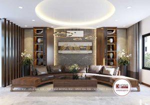Thiết kế sofa hình vòng cung siêu độc đáo