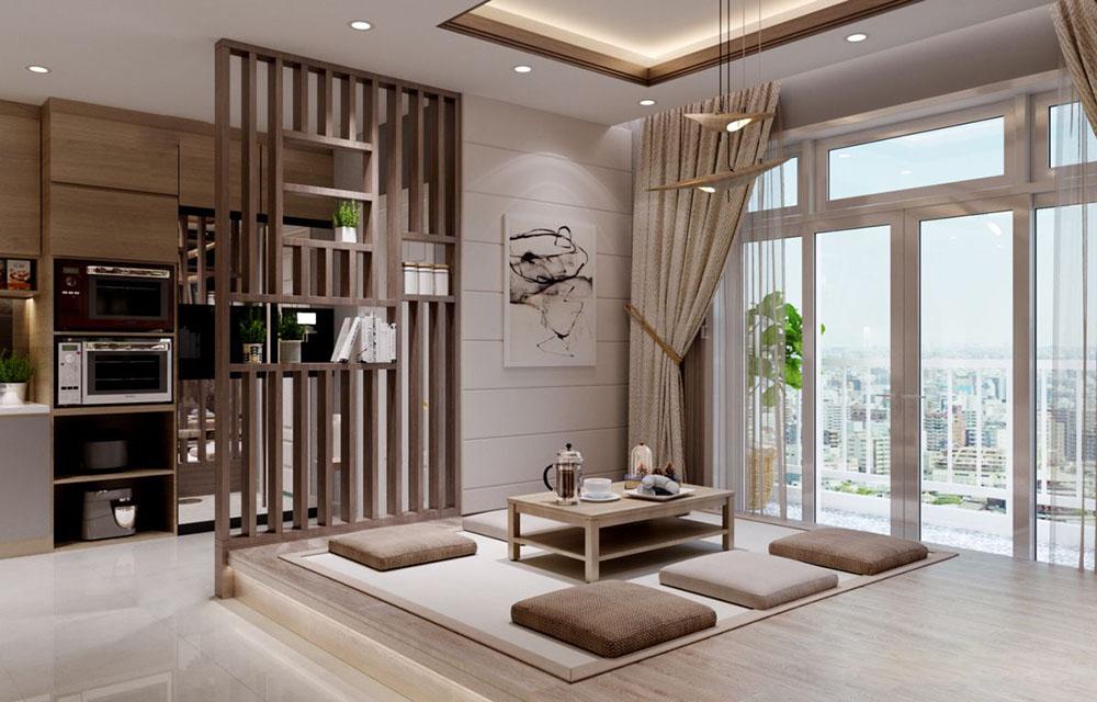 Sự đơn giản đã tạo nên không gian đầy thư giãn và trang nhã