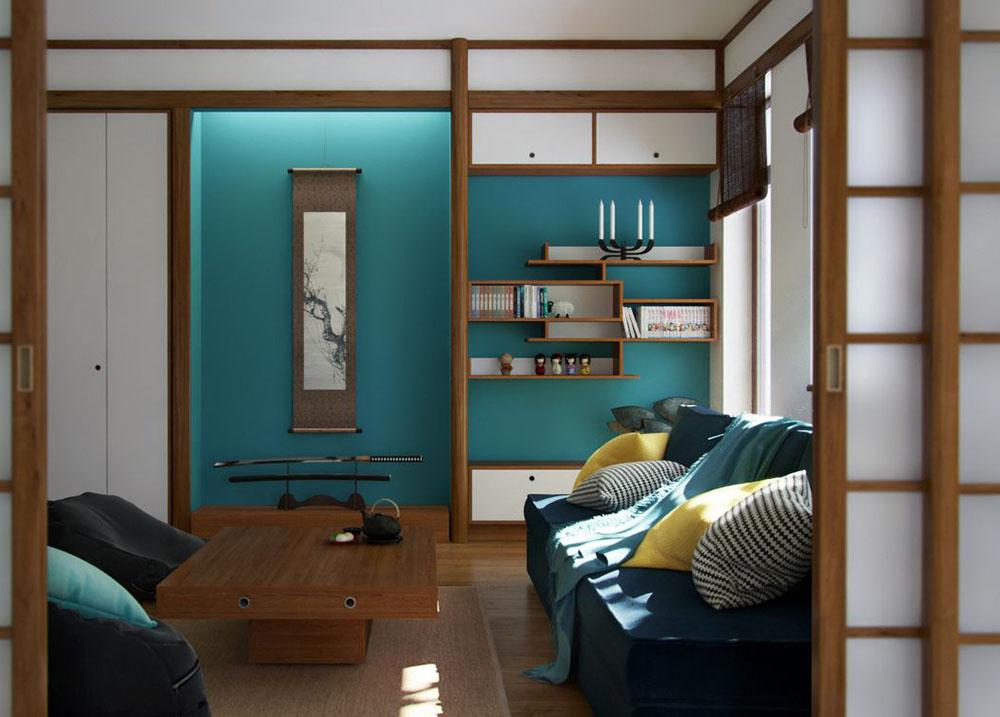 Cửa trượt tiết kiệm không gian cho phòng khách