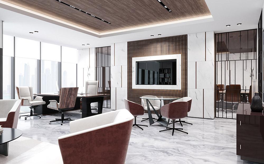 Cách phối màu đỏ đô - trắng cho thiết kế phòng