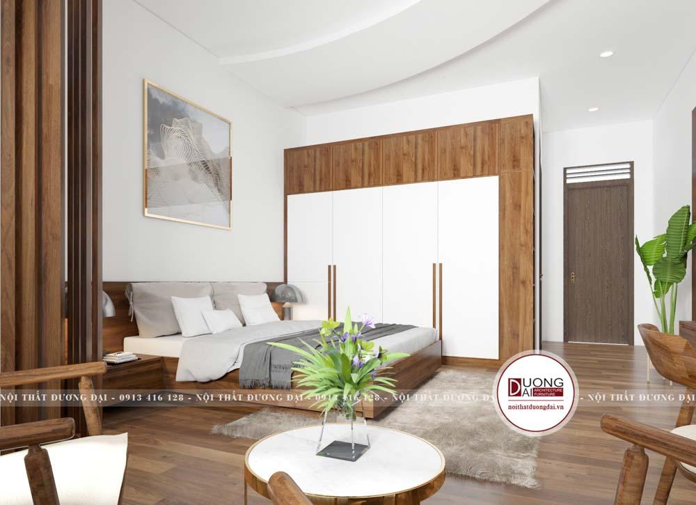 Thiết kế nội thất tại Phú Thọ | CĐT: Anh Thắng chất liệu gỗ An Cường