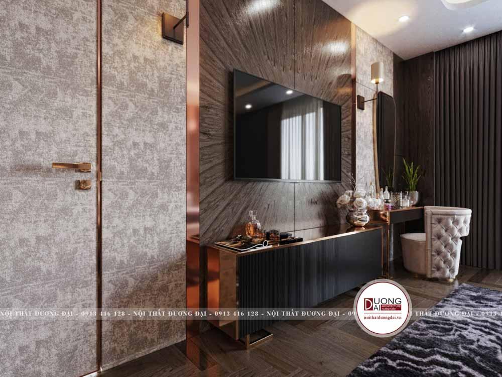 Thiết kế phòng ngủ Master biệt thự | CĐT: Anh Hùng Vĩnh Phúc