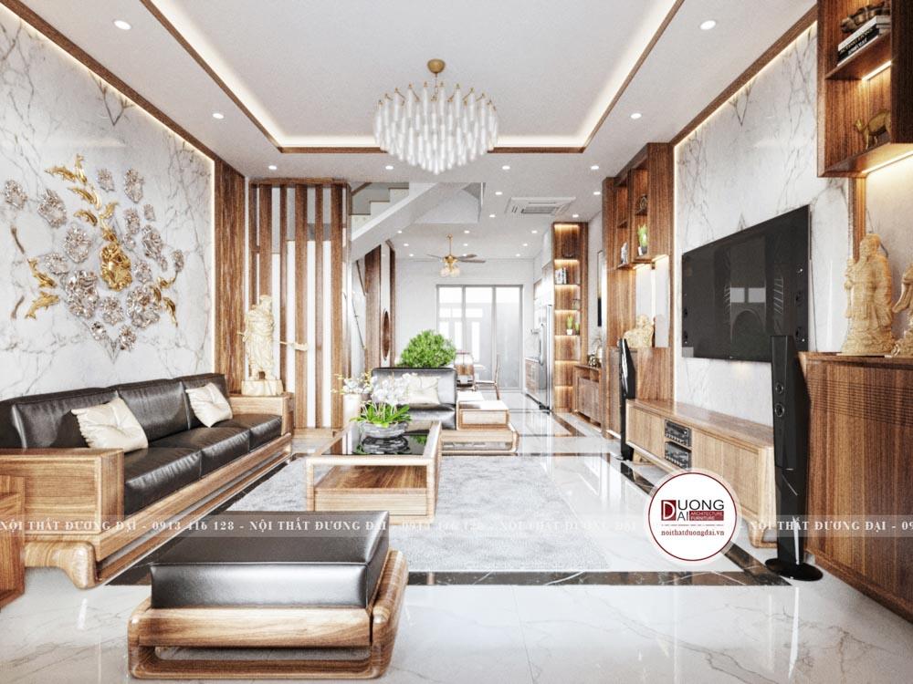 Thiết kế nội thất biệt thự với diện tích 90m2/sàn