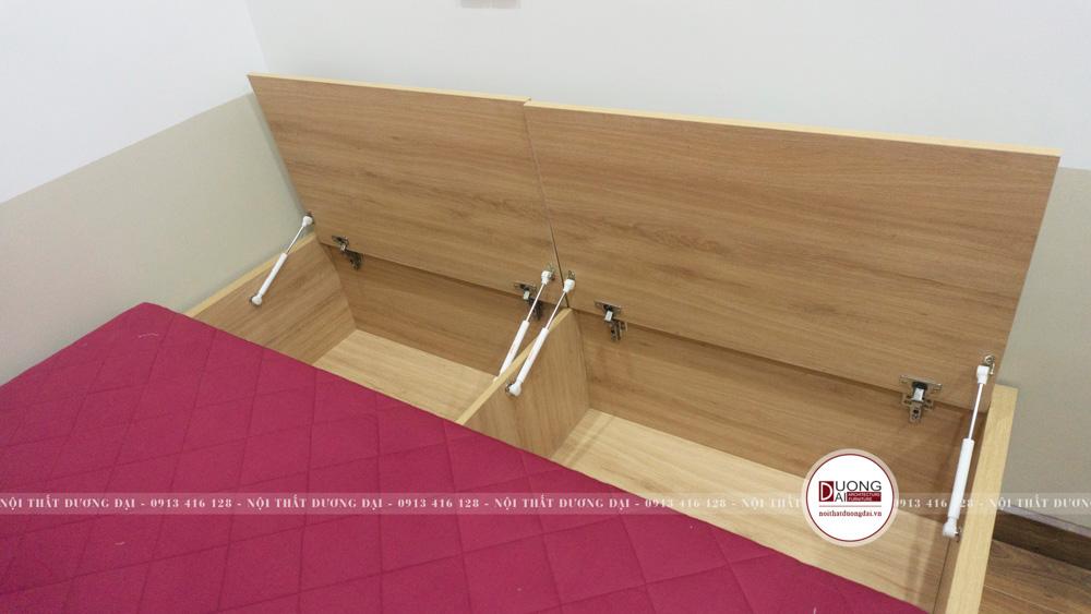 Hộc tủ làm từ gỗ chống ẩm chắc chắn, bền vững và an toàn cho sức khỏe