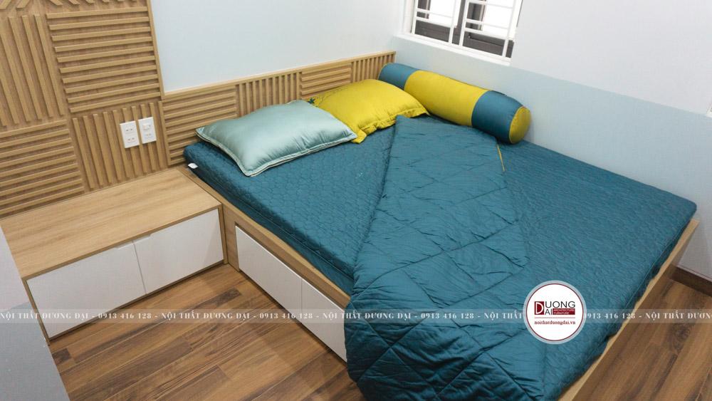 Phòng ngủ bé trai sử dụng nội thất đa năng từ gỗ An Cường