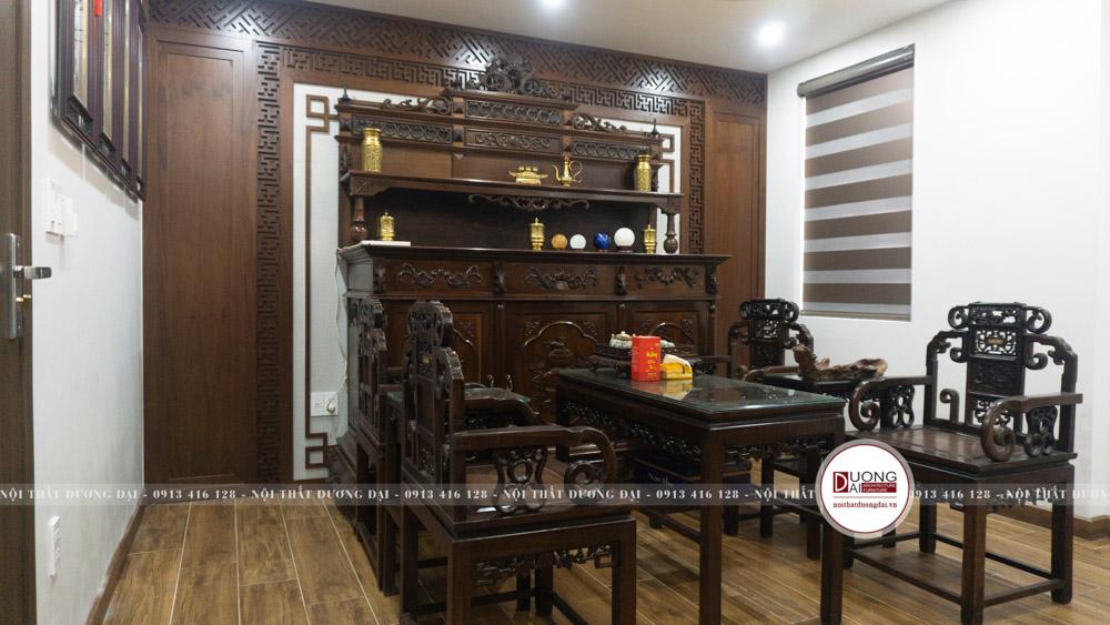 Thi công nội thất biệt thự Hoàng Huy Riverside | CĐT: Chị Mai