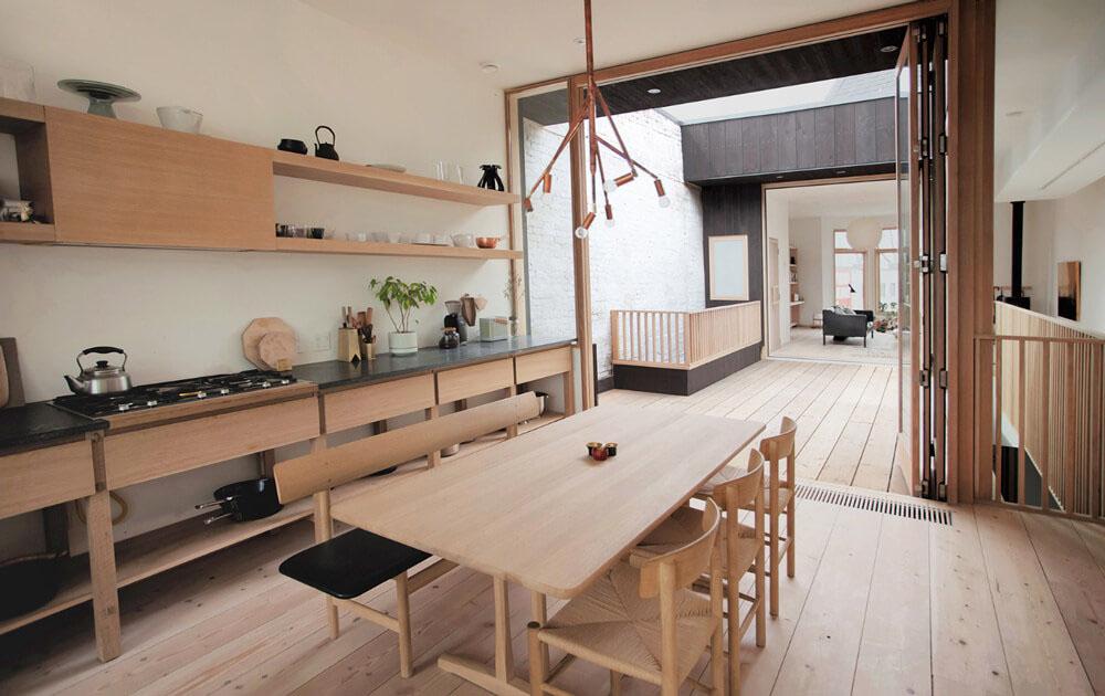 Nhà bếp kiểu Nhật |15+ Thiết kế phong cách Nhật siêu tiện nghi