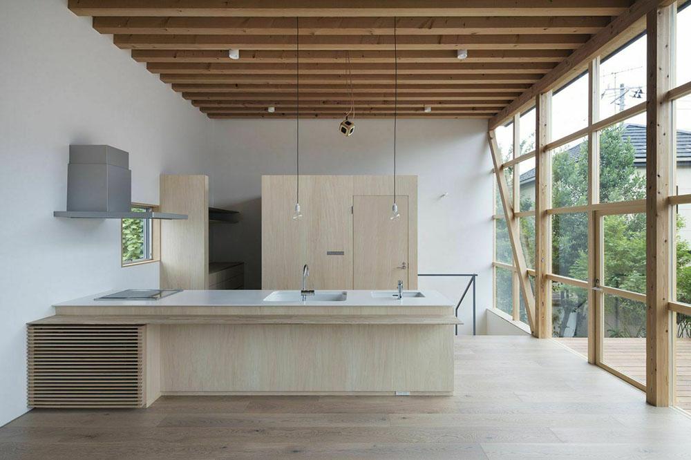 Thiết kế hiện đại với không gian mở tràn ngập ánh sáng