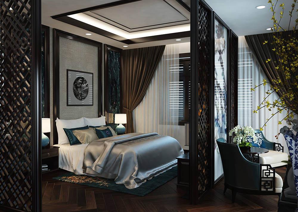 Phong cách nội thất Á Đông sang trọng tinh tế trong thiết kế