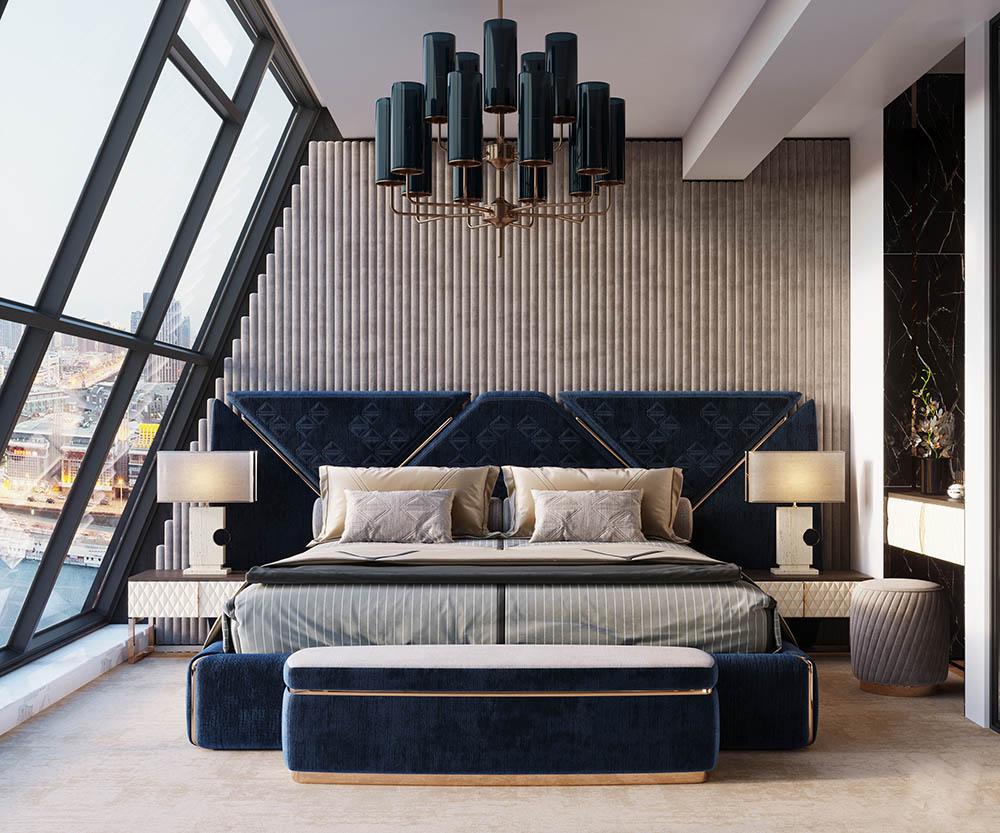 Căn phòng độc đáo với nội thất kiểu dáng xa hoa và sáng tạo