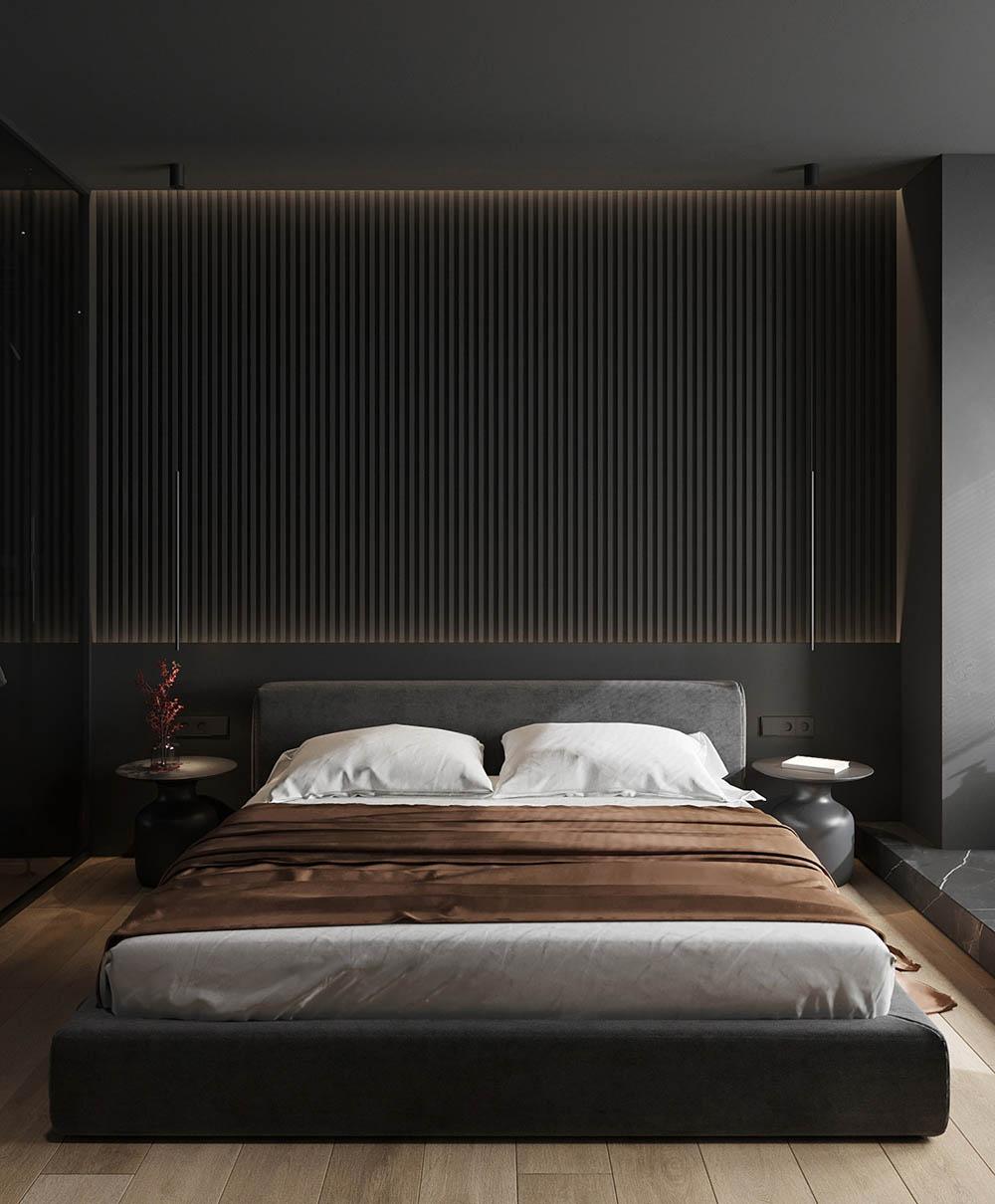 Sự đơn giản trong cách bài trí nội thất giúp không gian nghỉ ngơi dễ chịu hơn
