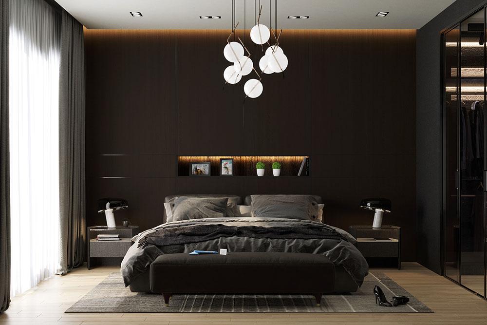 Thiết kế gam màu tương phản trắng - đen cùng nội thất tinh gọn