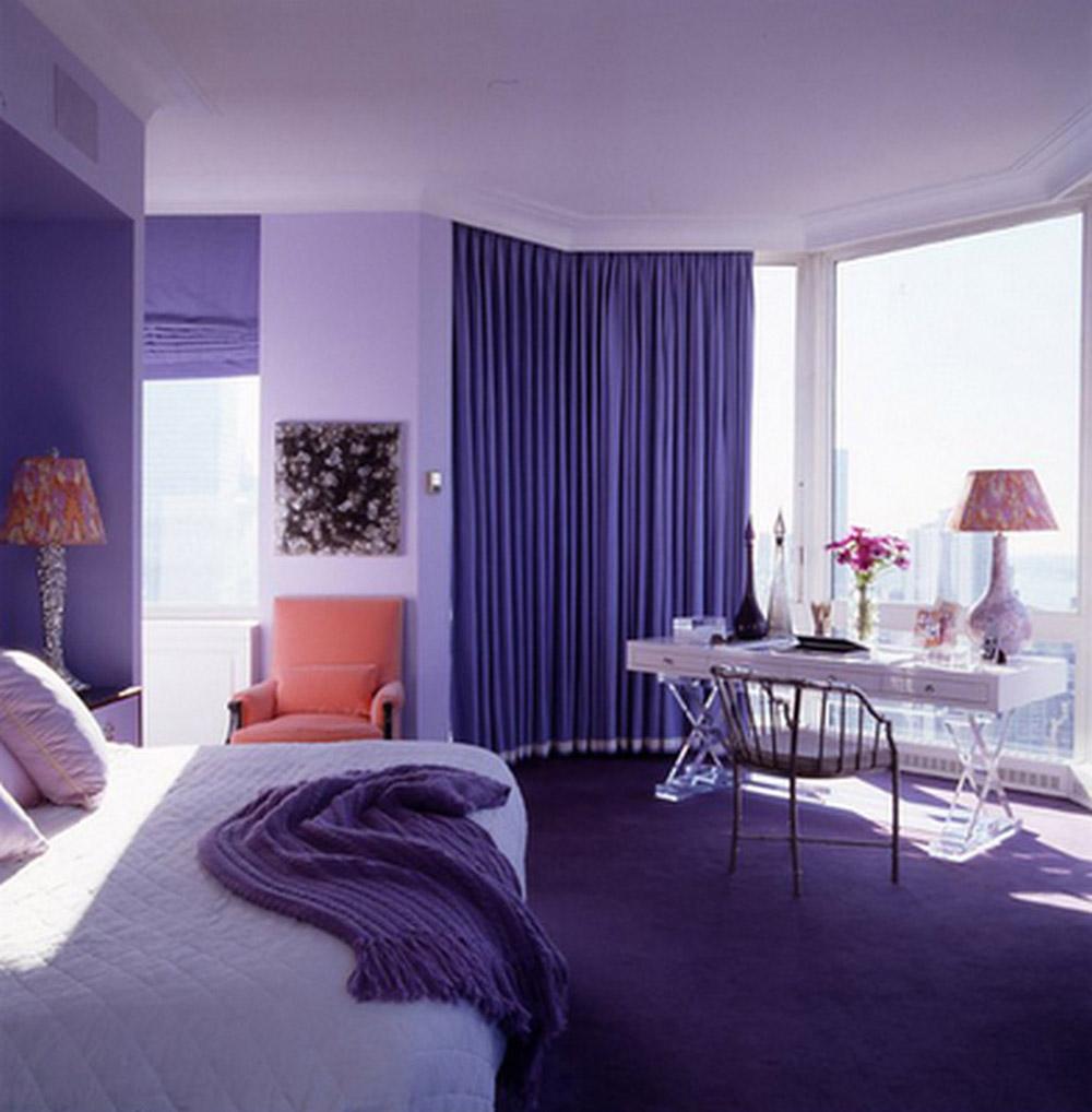 Trần nhà và tường trắng sẽ giúp căn phòng rộng mở và thông thoáng hơn