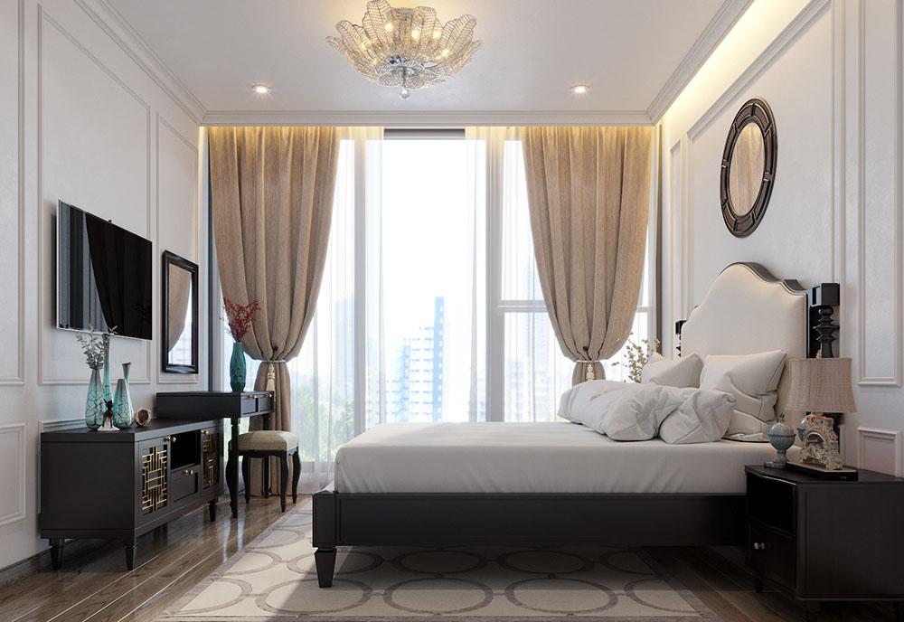 Phòng ngủ sẽ có không gian mở mang đến sự thông thoáng