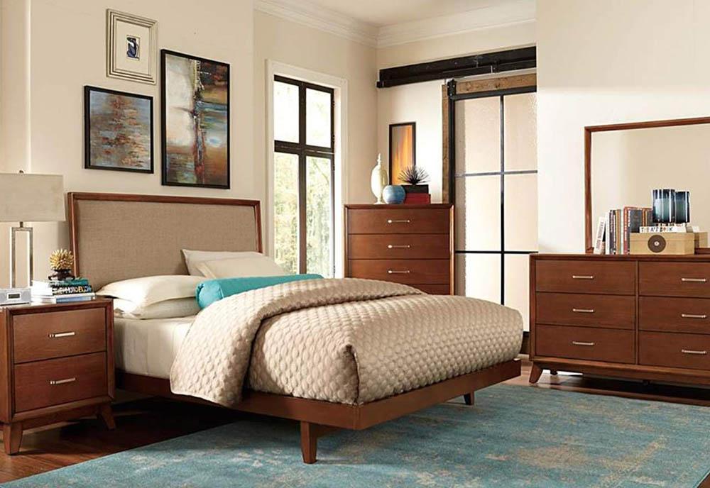 Mẫu phòng ngủ sang trọng và độc đáo với phong cách Retro