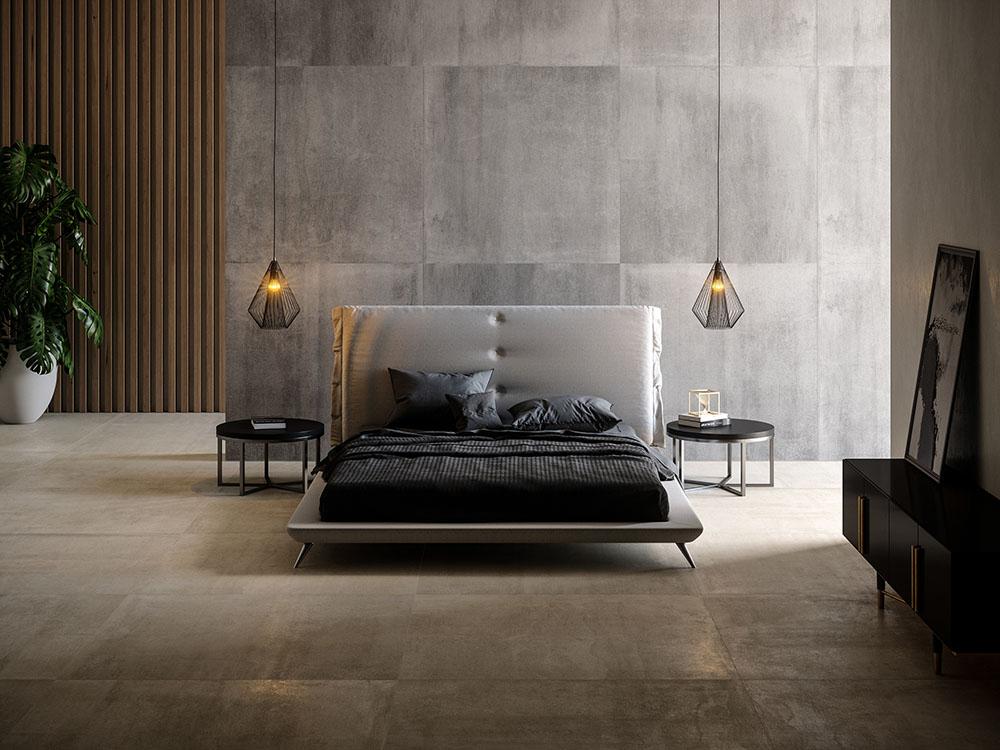 Gỗ tự nhiên và đá mang đến nét đẹp ấn tượng cho căn phòng