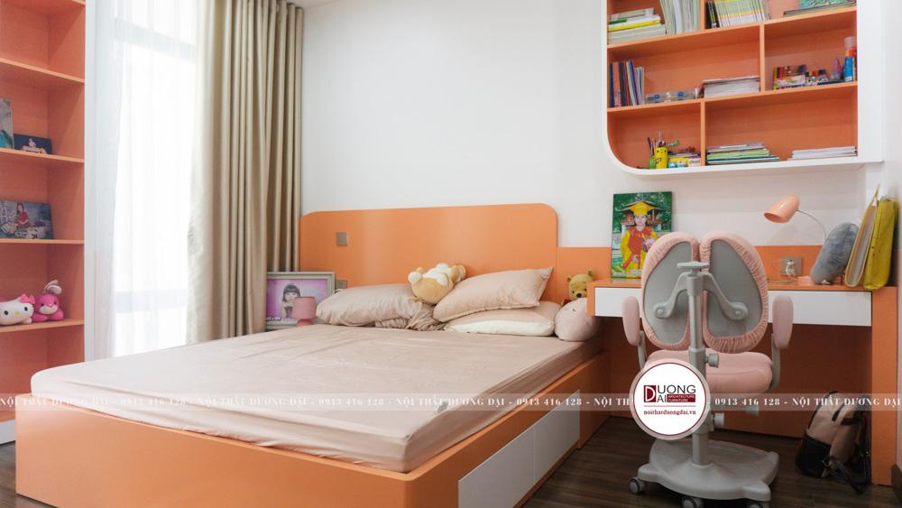 Thi công nội thất nhà liền kề Ao Sào | CĐT: Anh Kiên 4,5x14m