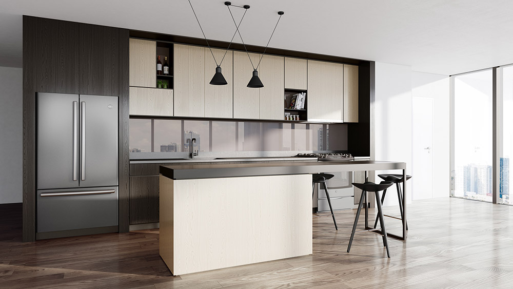 Tủ bếp âm tường đẹp   BST 30+ mẫu tủ bếp sang trọng nhất năm