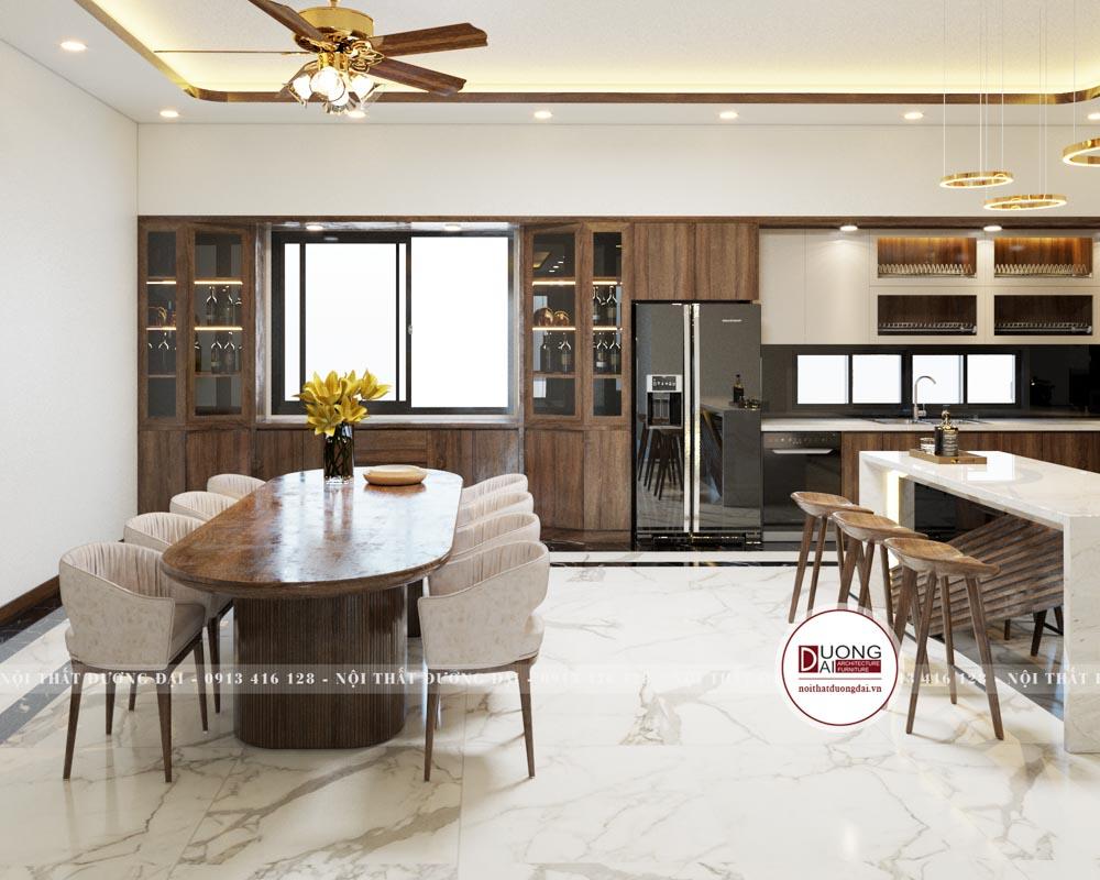 Thiết kế nội thất biệt thự 11,5mx26m | CĐT: Anh Dũng Sơn La