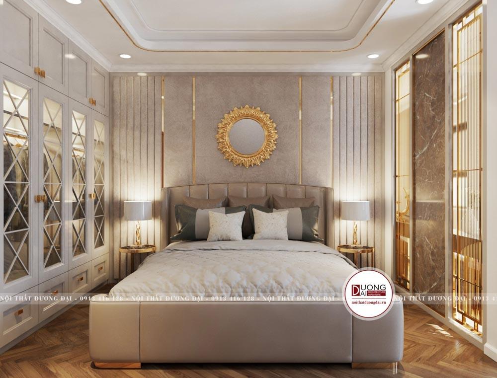 Thiết kế phòng ngủ tân cổ điển sang trọng xa hoa