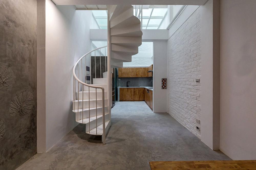Diện tích nhà nhỏ lựa chọn màu sắc sáng để mở rộng không gian