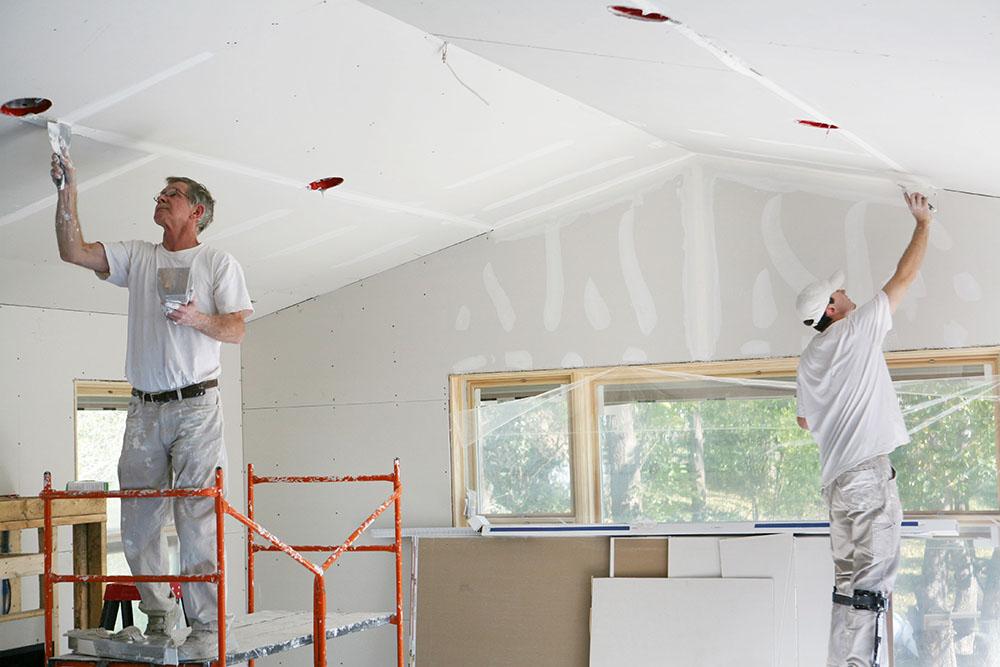 Bố trí công năng, chống thấm và làm lại trần nhà