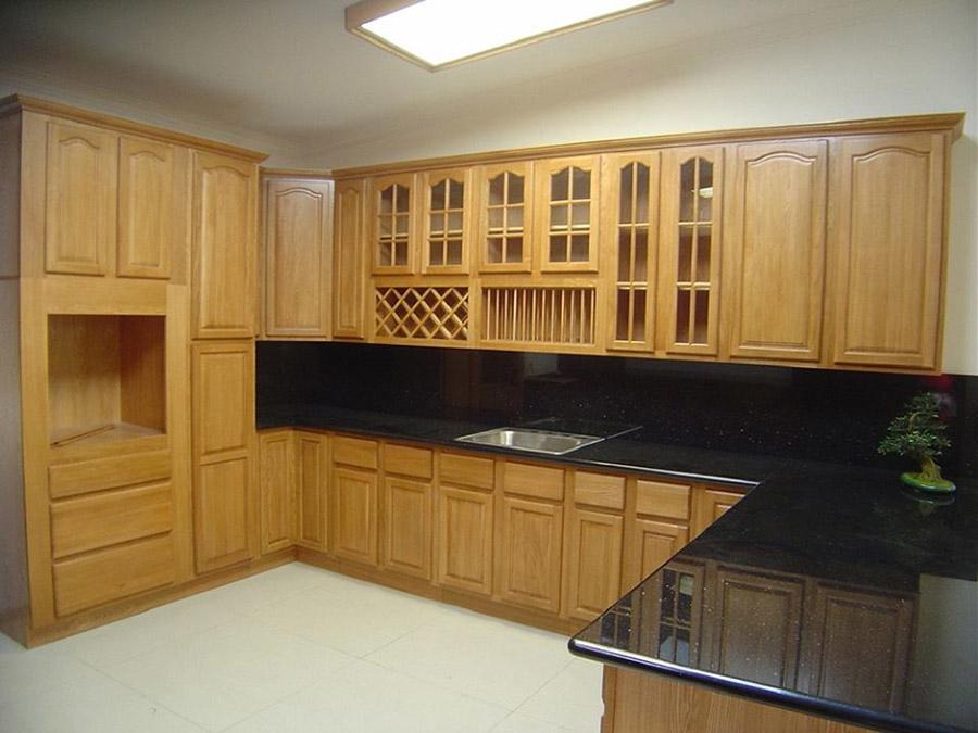 Tủ bếp với kiểu dáng sang trọng và độ bền ấn tượng