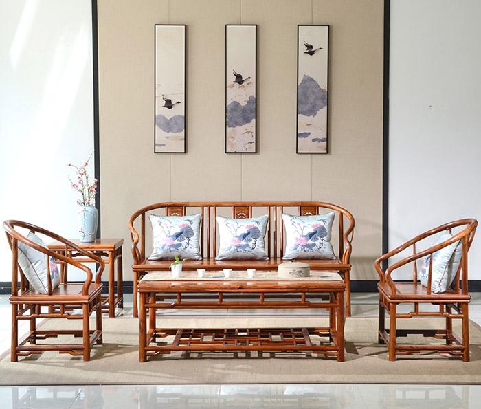 Thiết kế bàn ghế sofa kiểu dáng tân cổ điển đẹp mắt