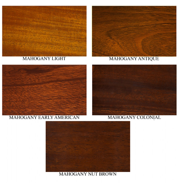 Các loại gỗ với màu sắc khác nhau khi được trồng ở các vùng địa lý
