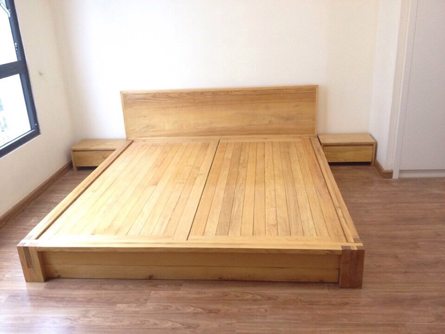 Loại gỗ này có màu gỗ sáng nên rất trang nhã và sang trọng