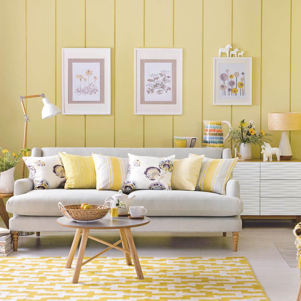 Thiết kế phòng khách đầy hiện đại và thư giãn với màu sắc nhẹ nhàng