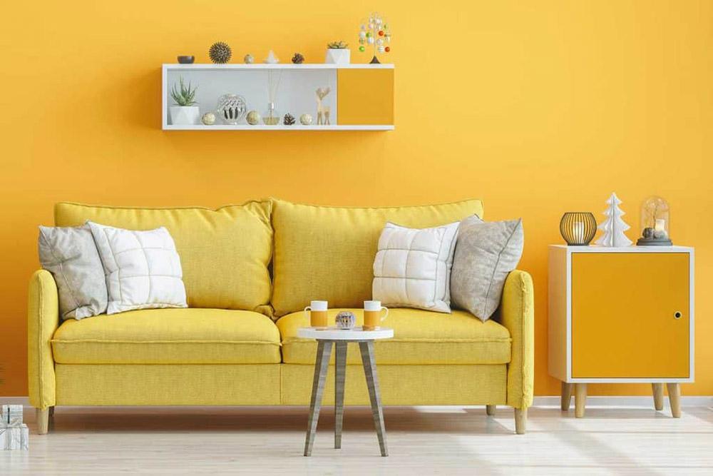 Phối màu vàng cho thiết kế nên tránh gây phản cảm và khó chịu