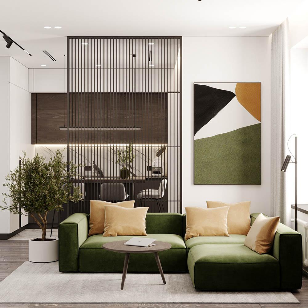 Nét đẹp hiện đại của nội thất với cách phối màu độc đáo