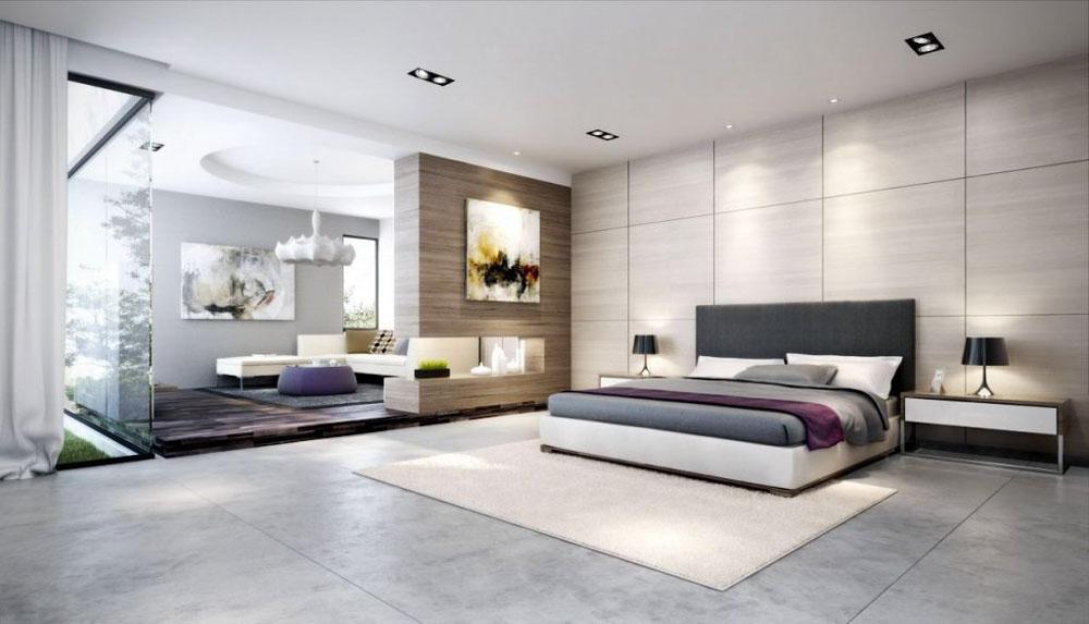 Phòng ngủ 60m2 rộng lớn tiện nghi cho không gian sống đẳng cấp