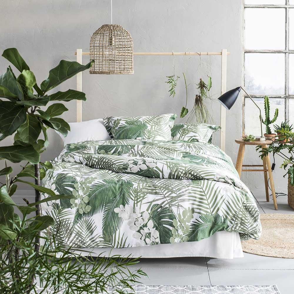 Thiết kế phòng ngủ xanh mát và đầy tính ngẫu hứng