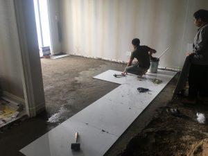 Cải tạo làm lại căn hộ cũ đã xuống cấp