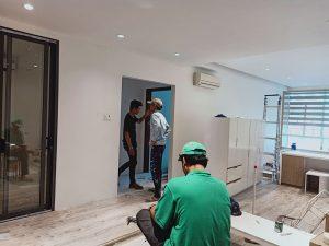Thiết kế và sửa chữa chung cư mới cho gia đình