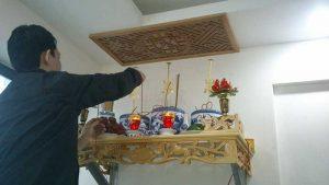 Lễ cúng bái phải diễn ra trang nghiêm và thành tâm