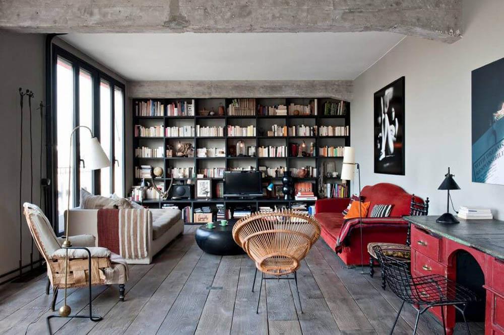 Những nội thất cũ được sử dụng khéo léo vào thiết kế