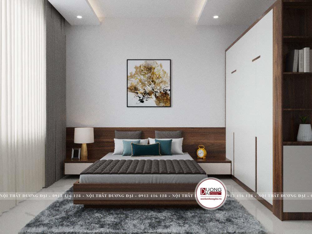 Thiết kế nội thất nhà ống 2 tầng 7,5m x 16,5m | CĐT: Anh Long