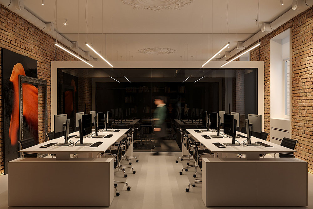 Thiết kế văn phòng siêu hiện đại cho công ty công nghệ