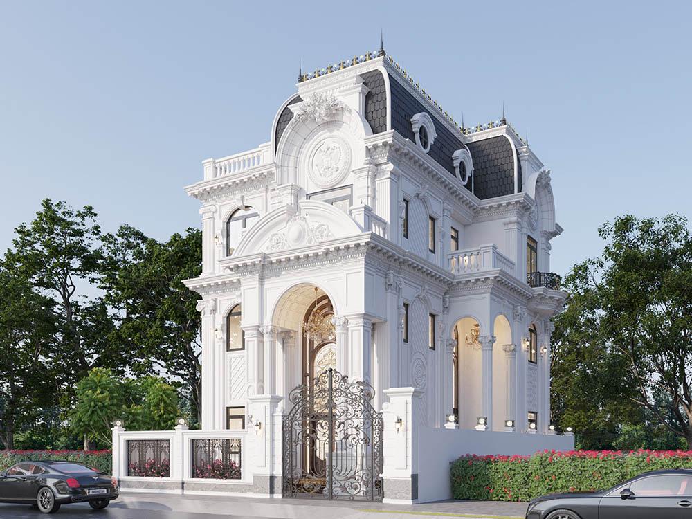 Thiết kế đầy nguy nga với kiến trúc có tính mỹ thuật cao