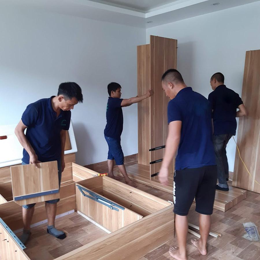 Cải tạo phòng ngủ 15m2 sang trọng tiện nghi với chi phí thấp