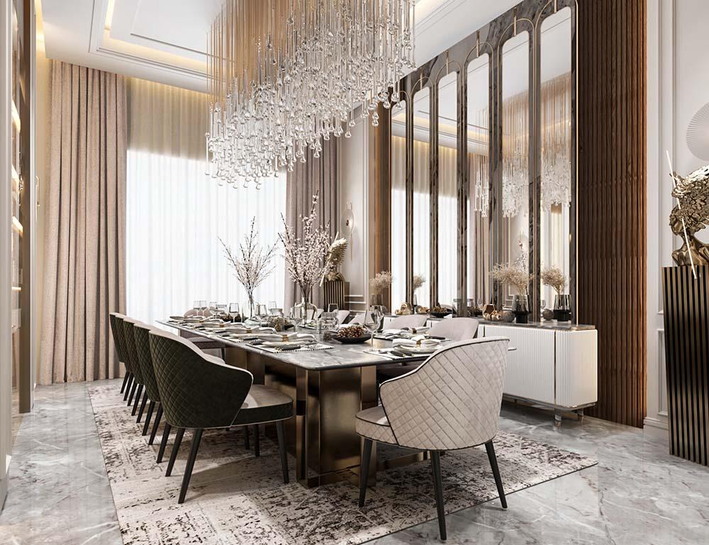 Phong cách nội thất Luxury với nét đẹp thượng lưu cao cấp nhất